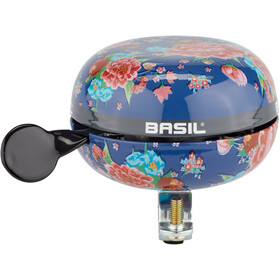 Basil Bloom Campanello Ø80mm, blu/rosa